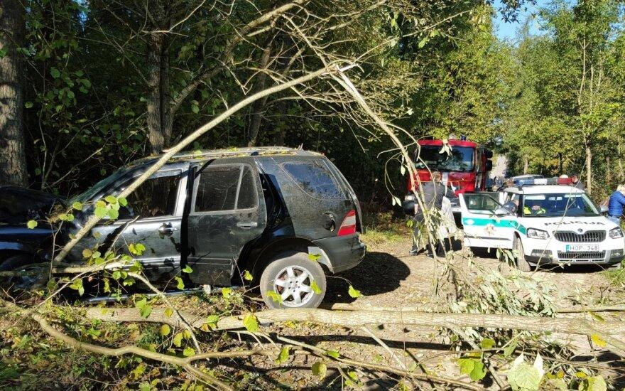 В Шальчининкай в аварии погиб известный контрабандист