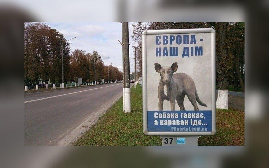 """""""Psy szczekają, karawana idzie..."""". Foto: uainfo.org"""