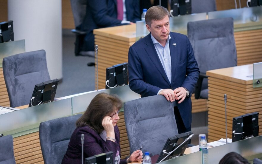 Ramūnas Karbauskis ir Rima Baškienė