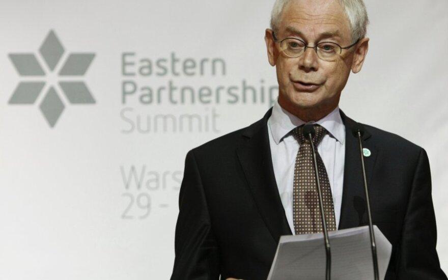 ES prezidentas Hermanas Van Rompuy