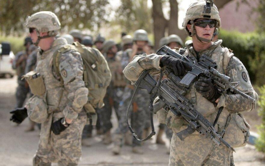 JAV kariai Irake