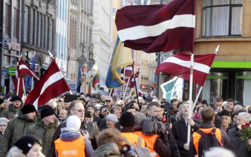 Марш легионеров СС в столице Латвии прошел спокойно