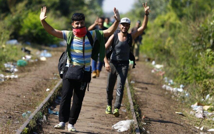 Министр: Литва в случае наплыва беженцев готова вернуть контроль на границе