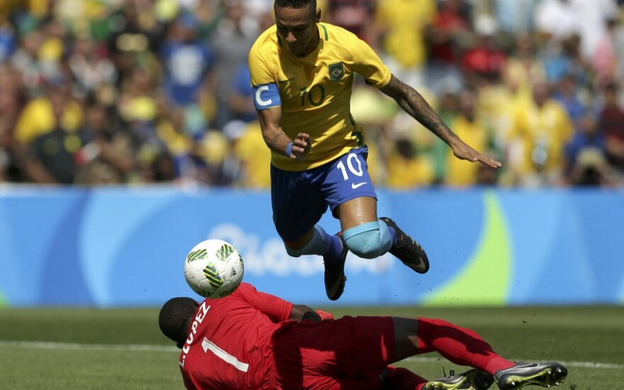 ВИДЕО: Неймар забил самый быстрый гол в истории Олимпиад