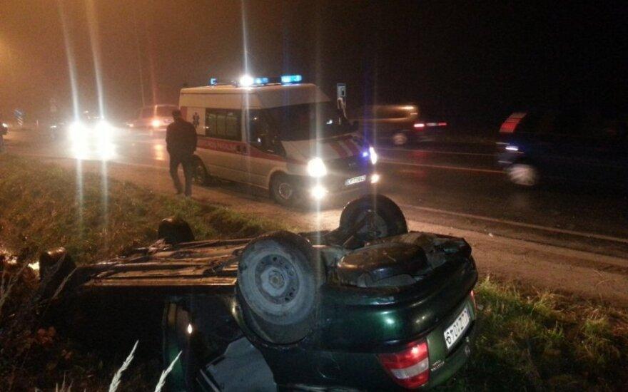 avarija Klaipėdos rajone