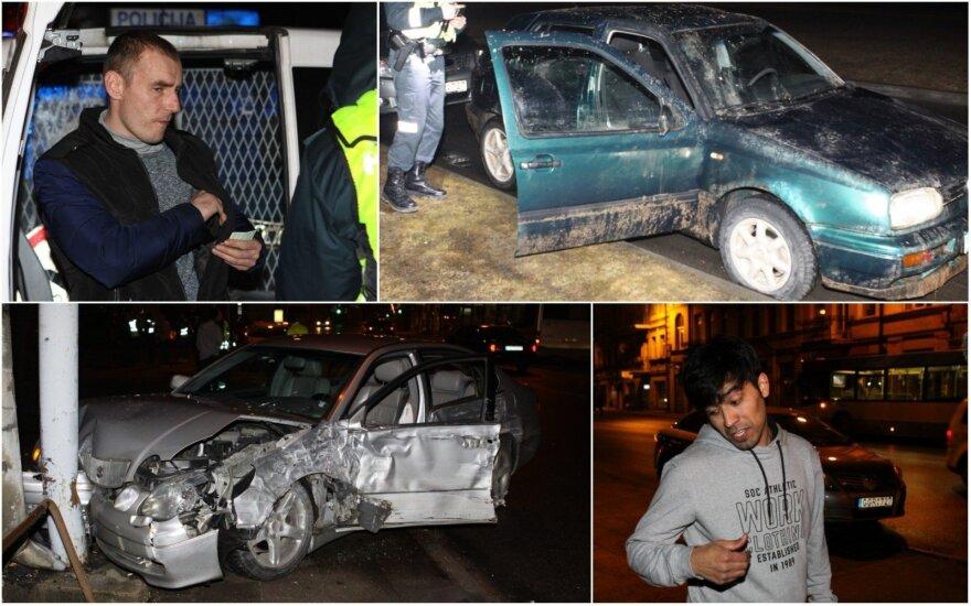 Ночь на улицах Вильнюса: возможно ли скрыться от полиции на дырявых покрышках?