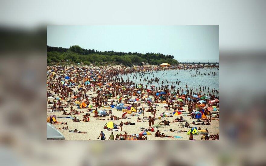 Жара гонит россиян на литовские курорты