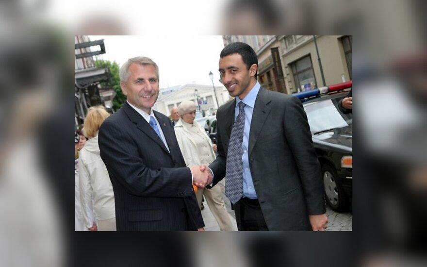 Литва и ОАЭ договорились о сотрудничестве