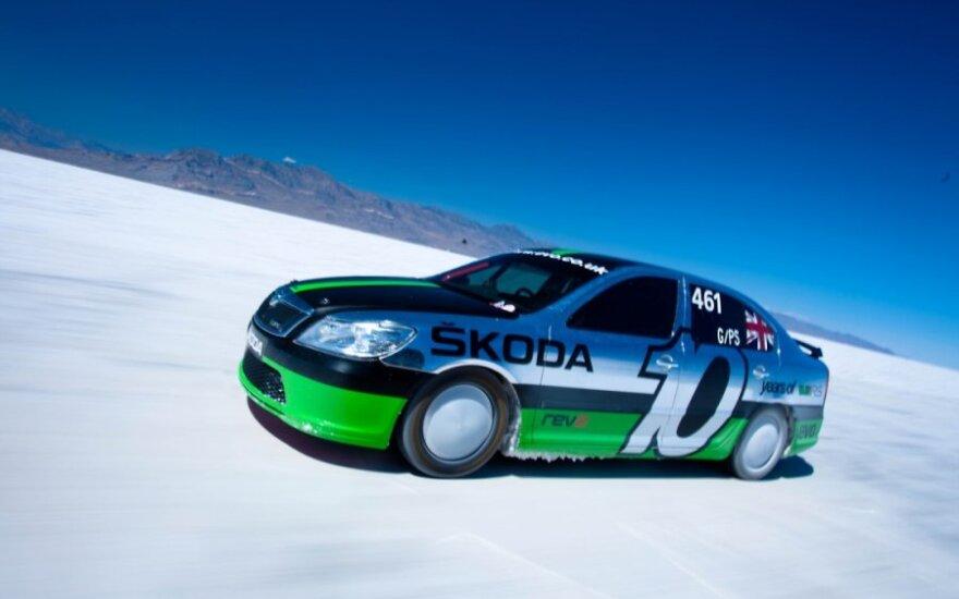 Škoda Octavia vRS Bonneville Special