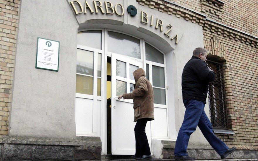 Уровень безработицы в Литве за месяц повысился до 9,2%