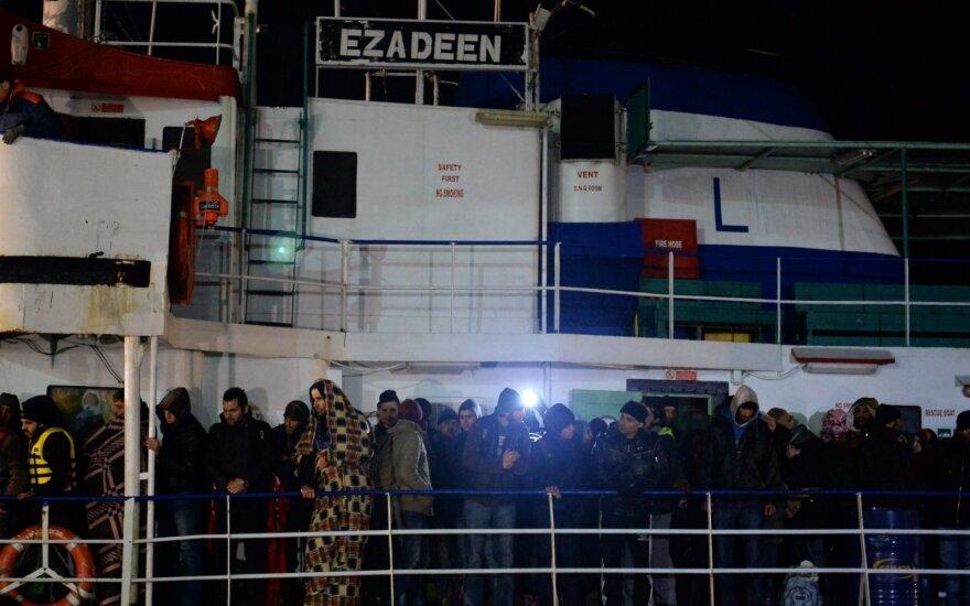40 мигрантов погибли на судне в Средиземном море