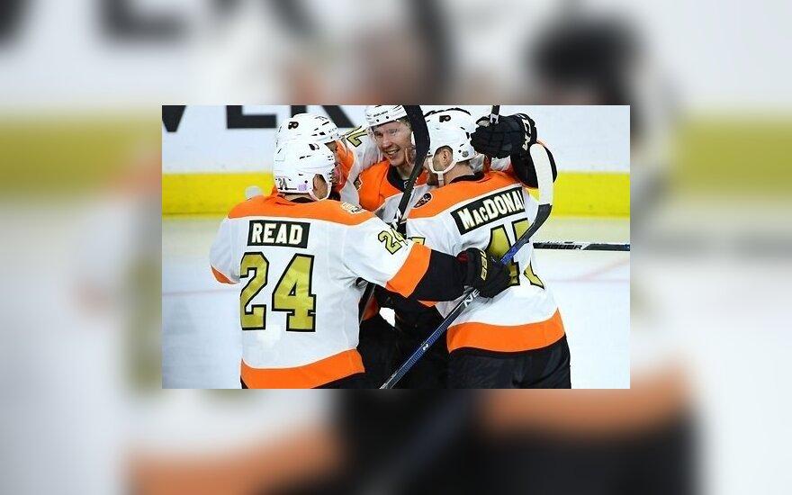 НХЛ: первая шайба Любимова, 50-й гол Радулова и шестой в сезоне Малкина