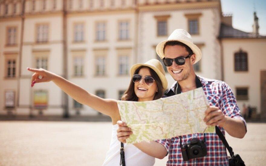 Сколько в Литве тратят российские и белорусские туристы?