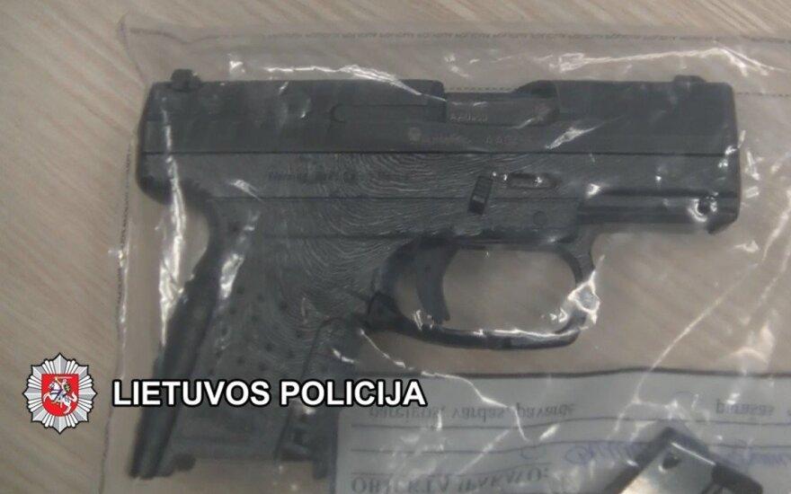 В Вильнюсе гремели выстрелы, задержан нетрезвый мужчина