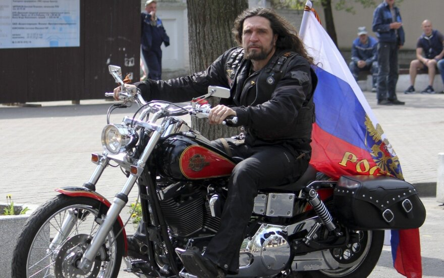 """Оппозиция Беларуси требует запрета """"Ночных волков"""""""
