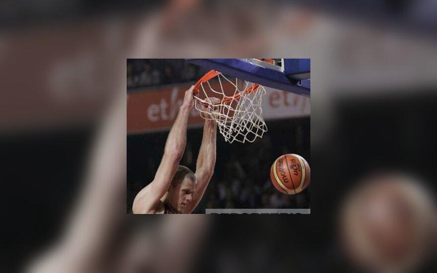 Marijono Petravičiaus dėjimas ULEB taurės finale