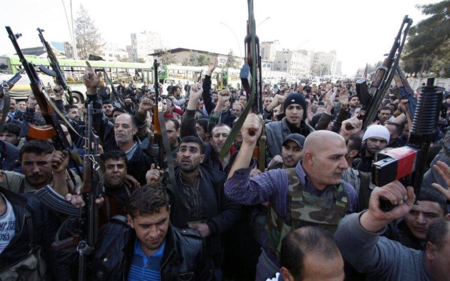 Damaske per sprogimus žuvo ne mažiau kaip 40 žmonių
