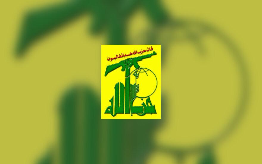 """""""Hezbollah"""" logotipas: """"Hezbollah yra nugalėtojai"""", teroristai"""