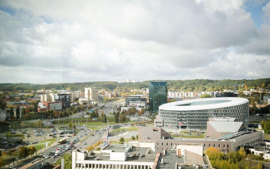 В Вильнюсе открылся бизнес-центр Quadrum