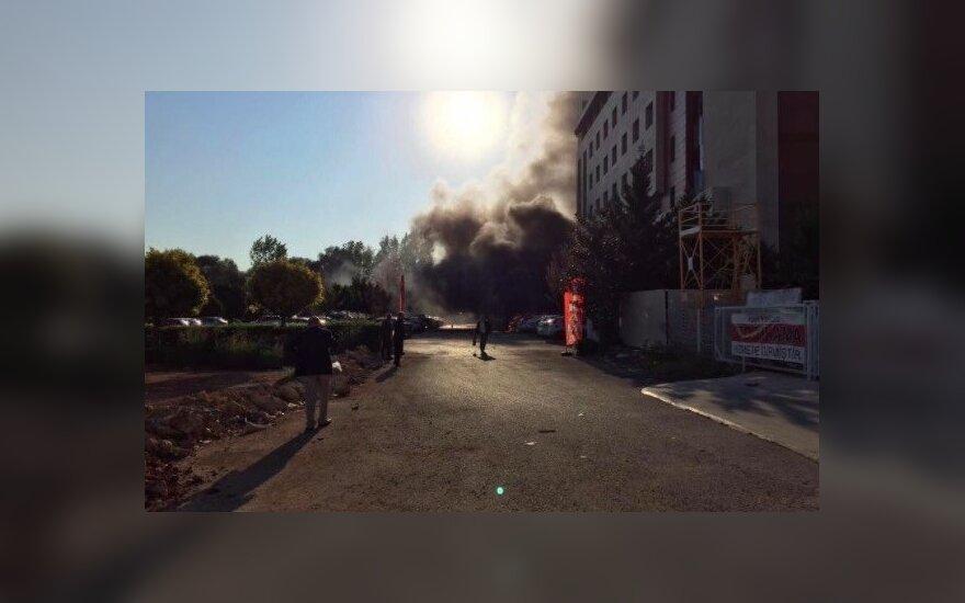 Antalijoje nugriaudėjo sprogimas