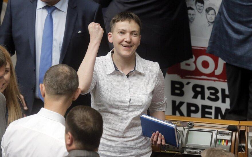 Савченко написала письмо Путину с просьбой освободить 66 украинцев