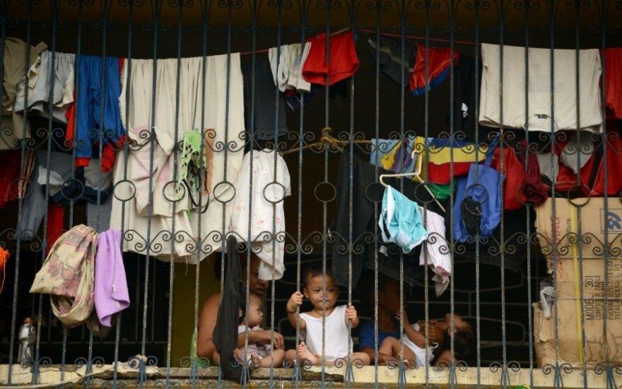Taifūnas nusiaubė Filipinus