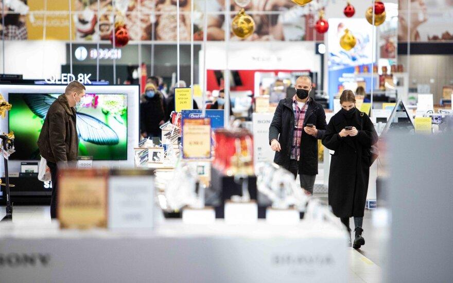 Премьер Литвы: если жители будут собираться в торговых центрах придется принимать меры