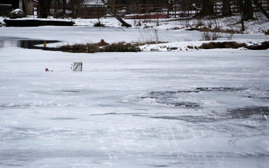 В Клайпедском районе обнаружен вмерзший в лед мужчина