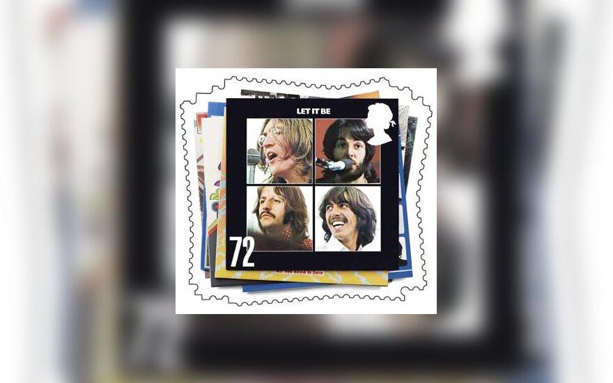 """""""The Beatles"""" pašto ženklas"""