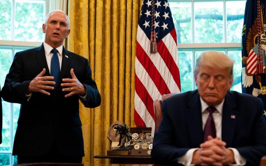 Mike'as Pence'as, Donaldas Trumpas