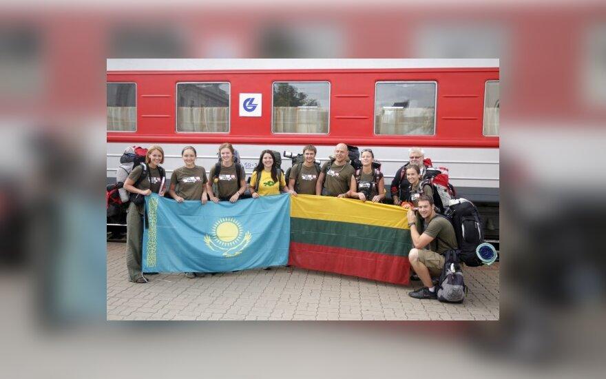 """В Вильнюс вернулись участники """"Миссии Сибирь"""""""