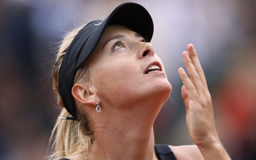 Мария Шарапова выиграла Roland Garros