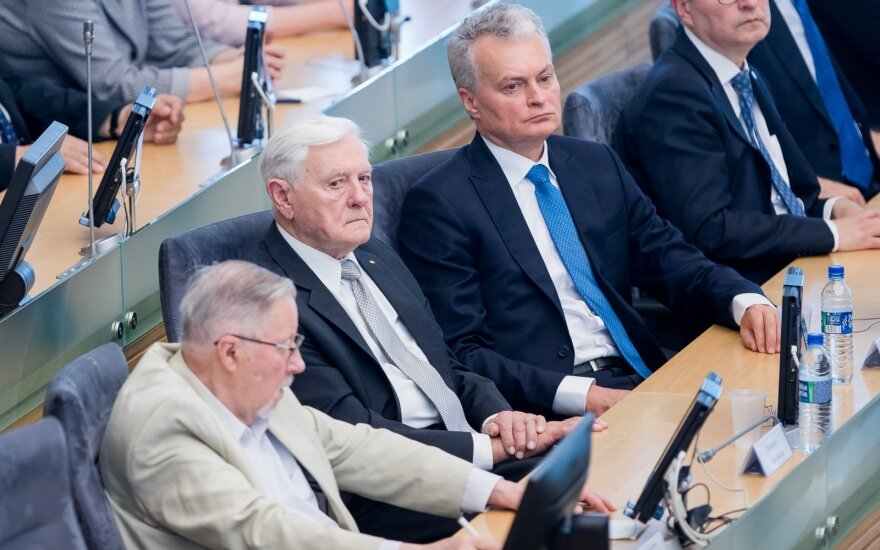 Vytautas Landsbergis, Valdas Adamkus, Gitanas Nausėda