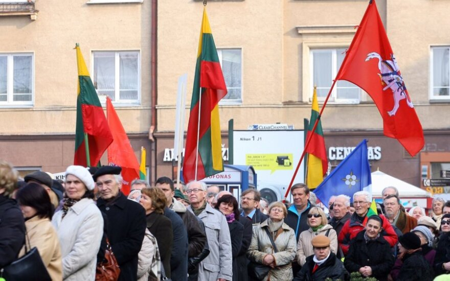 W Wilnie odbył się kolejny wiec