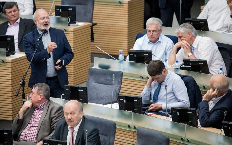 Сейм Литвы принял налоговую реформу