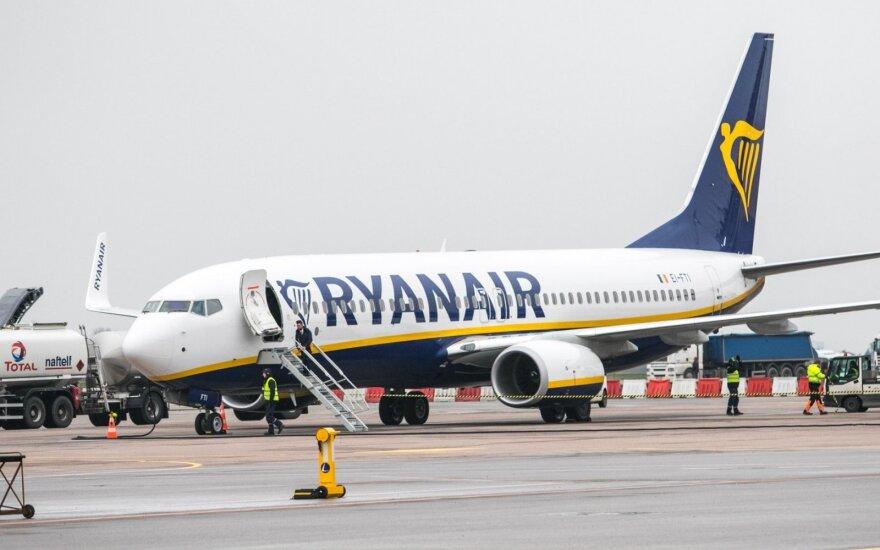 Самолеты Ryanair будут летать из Каунаса в Жирону