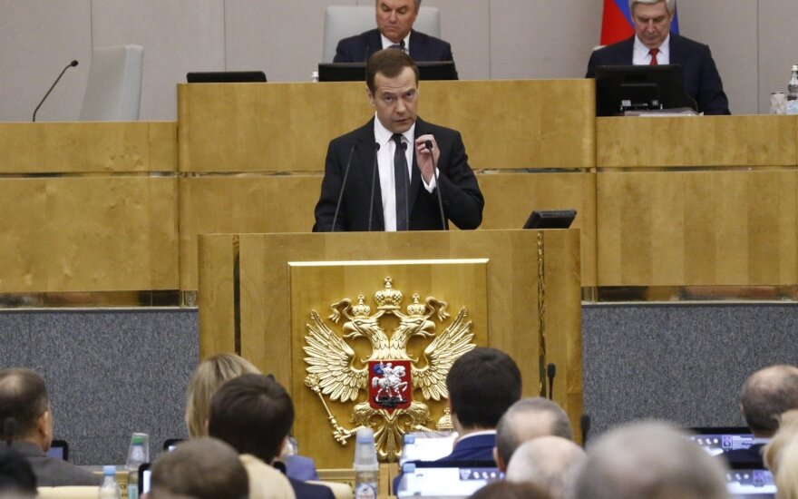 Медведев: расследование Навального - продукт политических проходимцев