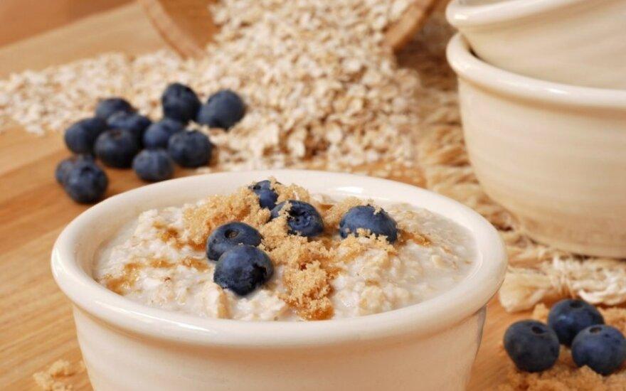 Овес и ячмень выводят холестерин и жиры из тела