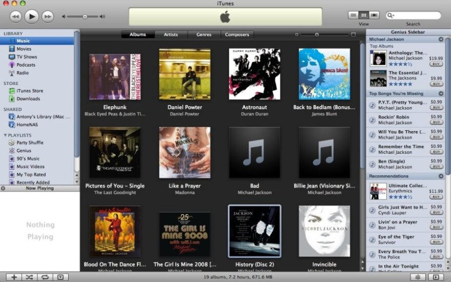 """Apple iTunes"""