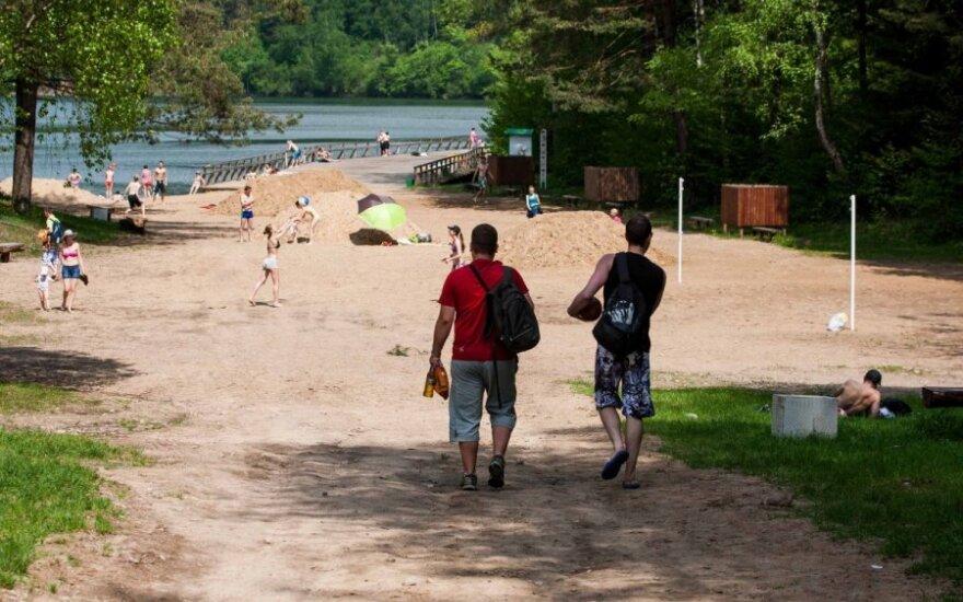 Объявили, где в Литве нельзя купаться