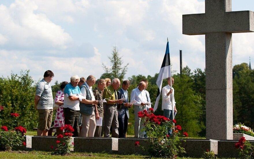 В эстонском городе отметили годовщину прихода армии Гитлера