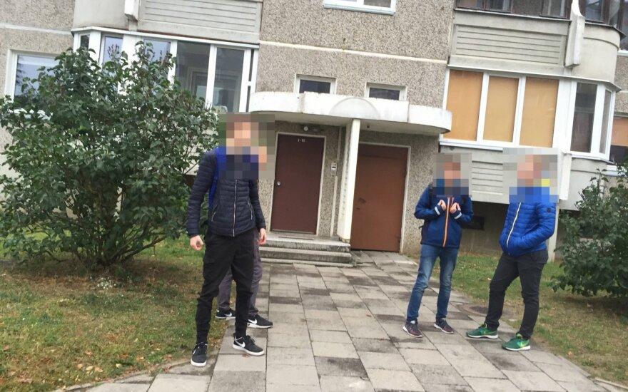 В Вильнюсе из пневматического оружия ранен мужчина, подозреваемый - подросток