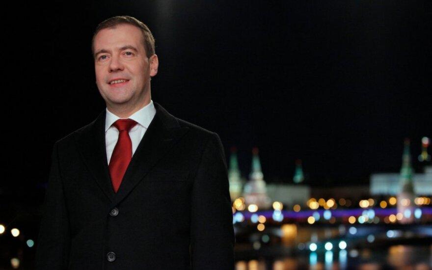 Медведев о протестах в России: жить стало веселее