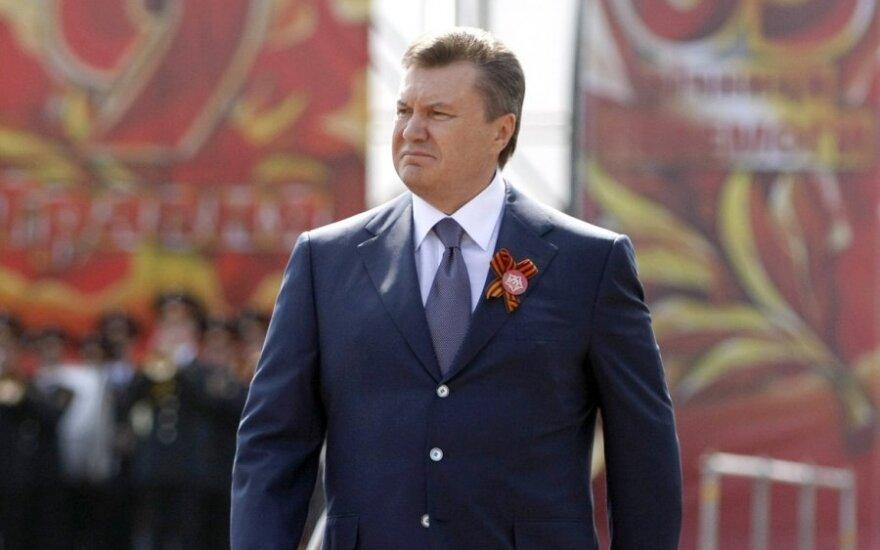 Wiktor Janukowicz do Dalii Grybauskaitė: Rosja nas szantażuje