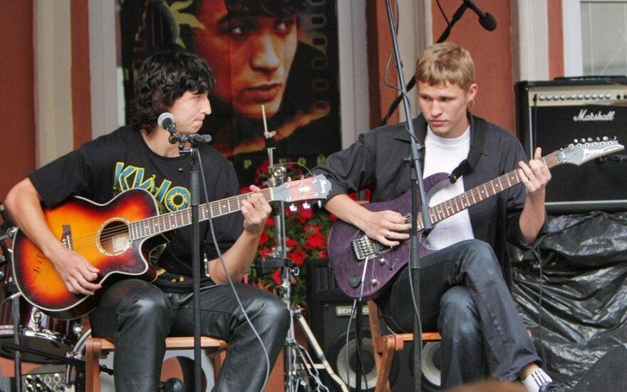 В Вильнюсе пройдет вечер русского рока
