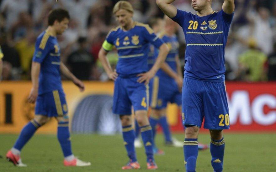 Ukrainos futbolininkai