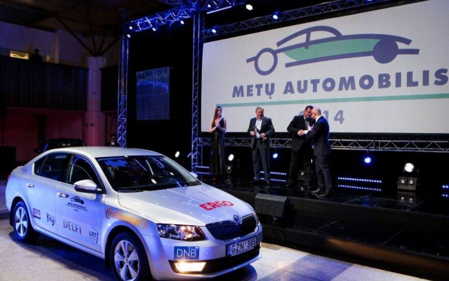 """""""Автомобиль года 2014"""" в Литве – Škoda Octavia"""