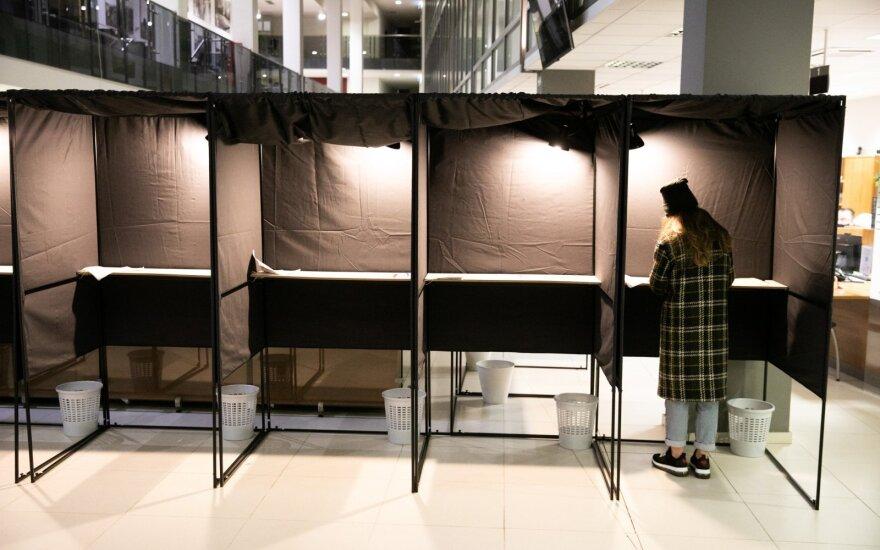 В Литве началось досрочное голосование во втором туре парламентских выборов