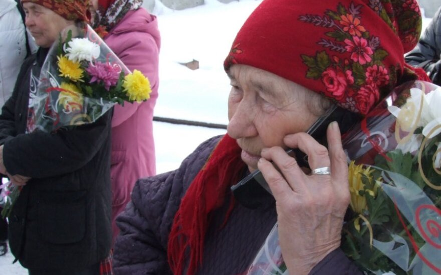 """Дед Мороз позвонил """"Бурановским бабушкам"""""""