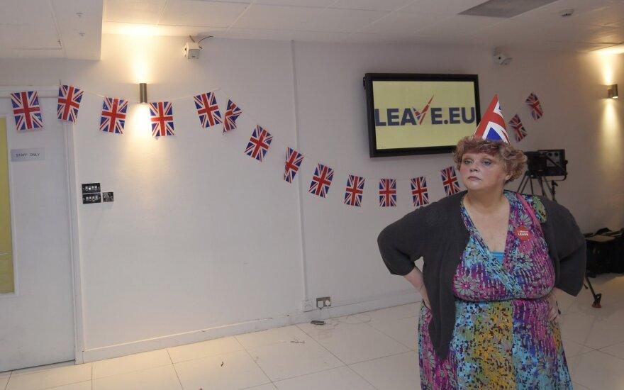 D. Britanijos referendumas